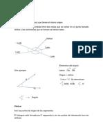 actividades a desarrollar geometria