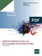Ámbitos Generales de Las Aplicaciones en Antropología