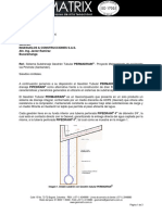 Subdrenaje Permadrain Pinchote actualizado