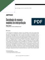 Sociologia do espaço modelos de interpretação.pdf
