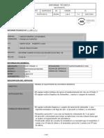 INFORME TECNICO RETROEXCAVADORA REA-06