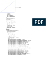 Dependencias projeto dotnet core
