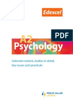 Edexcel A2 Psychology Online 9780340966846