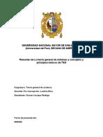 RESUMEN DE LA TEORÍA GENERAL DE SISTEMAS Y CONCEPTOS Y PRINCIPIOS BÁSICOS TGS.docx