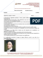 Examen filosofía primer parcial