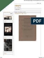 Américo de Ferias Psiquiatria origenes de la locura Cuba 1928 fragmento