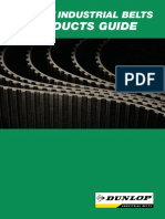 Dunlop Industrial Belts Products Guide