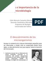 Historia e Importancia de la microbiología