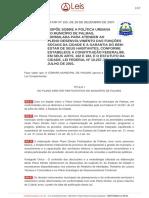 Lei Comp. 155-2007 - Plano Diretor de Palmas