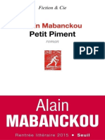 Alain Mabanckou - Petit piment.epub