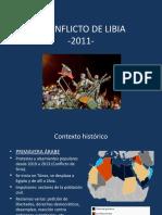 CONFLICTO DE LIBIA 2011