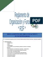 Manual de Procedimientos, ROF, RIT.