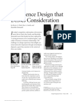 Experience Design That Drives Consideration