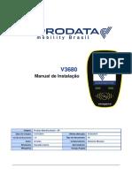 Manual de Instalação Validador V3680 - 1 6 - RJ