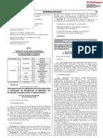 Otorgan Licencia a Ministra de La Produccion y Encargan Su d Resolucion Suprema n 035 2020 Pcm 1870378 6
