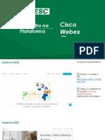 Plataforma Cisco Webex_passo-a-passo