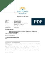 Fort St. John 2020 Property Tax Report