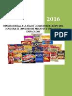 EL CONSUMO DE MECATOS Y PRODUCTOS EN LA SALUD