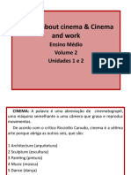 Unidades 1 e 2 - Talking About Cinema & Cinema and Work