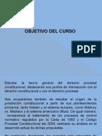 1raSemana Derecho Procesal Constitucional