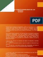 3raSemanaDerechoProcesal ConstitucionalCONTROL DE CONSTITUCIONALIDAD DE LAS NORMAS