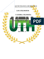UNIVERSIDAD TECNOLOGICA TAREA DE FILOSOFIA