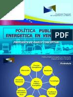 Politica Publica Energetica para Venezuela (Version Final NH, Julio 2020)