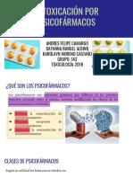Intoxicación por Psicofármacos_ Antipsicóticos, Ansiolíticos y Antidepresivos (Fenotiazinas, Antidepresivos, Litio, Buspirona)