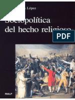 Sociopolítica del hecho religioso - Angel Belena López
