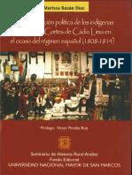 2013 - Bazan, Marissa - La participacion politica de los indigenas.pdf