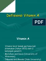Defisiensi Vitamin A