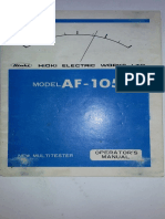 AF105+multimetro+Hioki