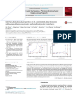 Interfacial dilational properties of di_substituted alkyl benzene sulfonates at kerosene_water and crude oil_water interfaces