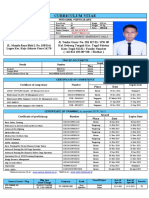 CV - MUH. FAUZI ( DECK OFFICER CLASS III MANAGEMENT LEVEL )