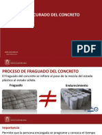 Proteccion y curado del concreto