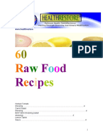 60 Raw Food Recipes