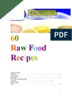 60 Raw Food Recipes