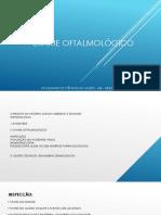 Exame Oftalmologico ubi
