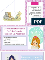 Tarea N°3 Variación de Parametros por. Ruddy Fonseca 4-792-1316  2II122