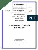 Cours_Conception & Gestion des Projets M2_Ouaga 2015