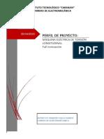 perfil de proyecto