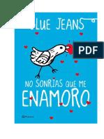 Jeans_Blue- No Sonrias Que Me Enamoro