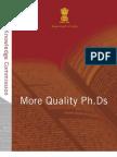 More Quality Phd
