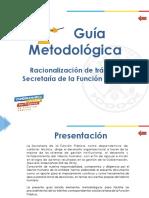 Guía Metodológica Trámites - Secretaría de función pública