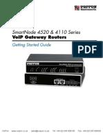 Patton Smartnode 4520 4110 Users Guide