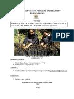 INVESTIGACION  QUINA AMAZONAS 2019