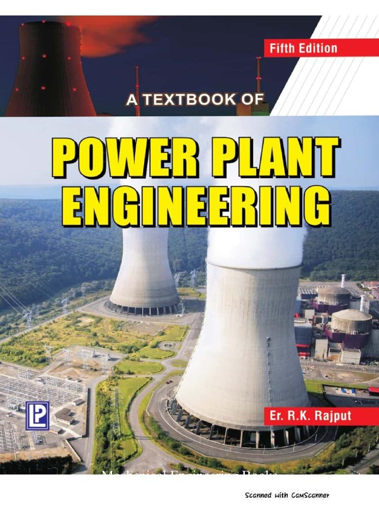 Power Plant Engineering By R K Rajput Engineering Mechanical Engineering