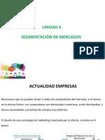 Unidad 4 Segmentacion de Mercado