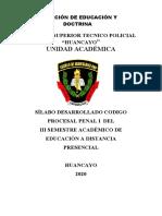 SILLABUS ACTUALIZADO CODIGO PROCESAL PENAL I.docx