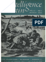 US Army Intelligence Bulletin March 1945
